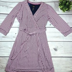 Laundry by Shelli Segal | NWOT Pink & Navy Dress